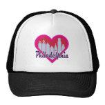 Philly Skyline Heart Cap