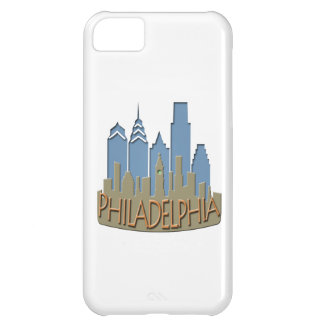 Philly Skyline newwave beachy iPhone 5C Cases