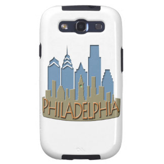 Philly Skyline newwave beachy Galaxy SIII Cover