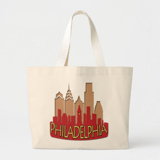 Philly Skyline newwave hot Jumbo Tote Bag