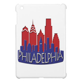 Philly Skyline newwave patriot Cover For The iPad Mini