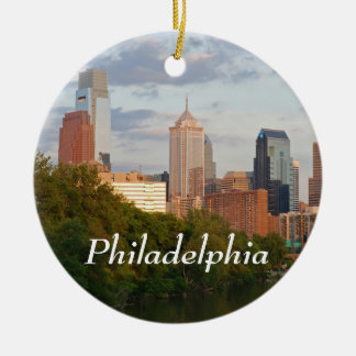 Philly summer christmas ornament