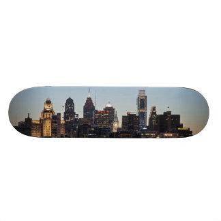 Philly sunset custom skateboard
