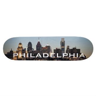 Philly sunset skate board