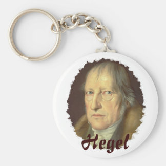 Philosopher Georg Hegel Key Ring
