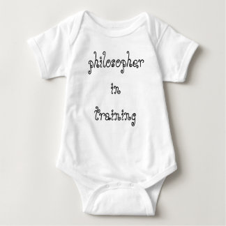Philosopher in Training infant creeper