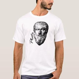 Philosopher Plato White Mens T-Shirt