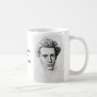 Philosopher Soren Kierkegaard Classic White Coffee Mug