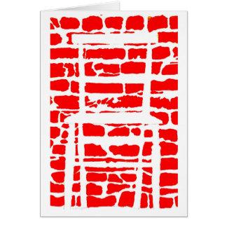 philosophers' optical illusions greetings card