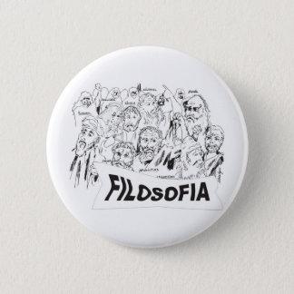PHILOSOPHERS Plato Aristotle euclides Socrates 6 Cm Round Badge