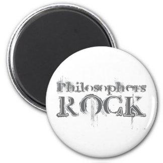 Philosophers Rock 6 Cm Round Magnet