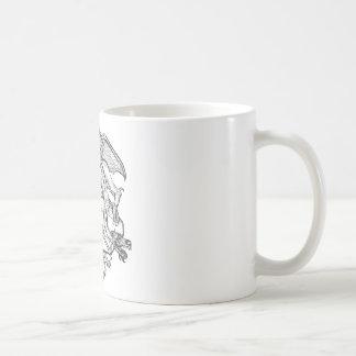 Philosopher's Stone Dragon Emblem Mugs
