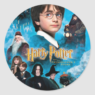 Philosopher's Stone Poster Classic Round Sticker