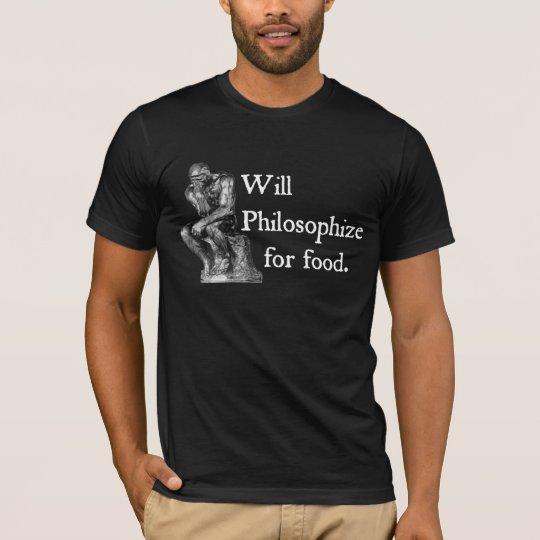 Philosophise for Food Men's T-Shirt