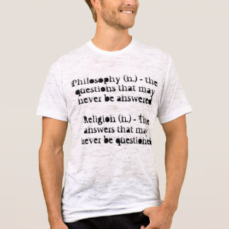 Philosophy and Religion T-Shirt