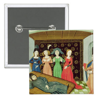 Philosophy and the Muses 15 Cm Square Badge