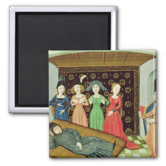 Philosophy and the Muses Magnet