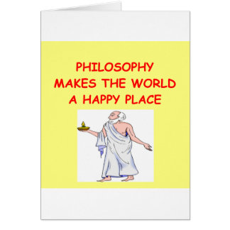 philosophy card
