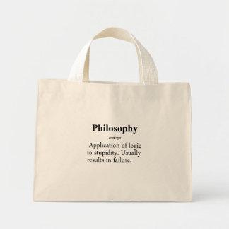 Philosophy Definition Mini Tote Bag
