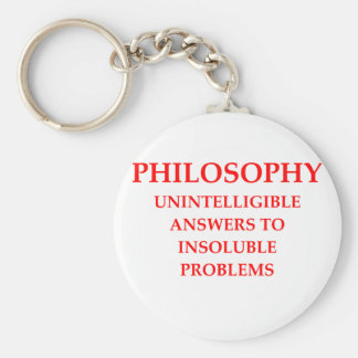 philosophy key ring