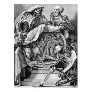 Philosophy of Mortality Postcard