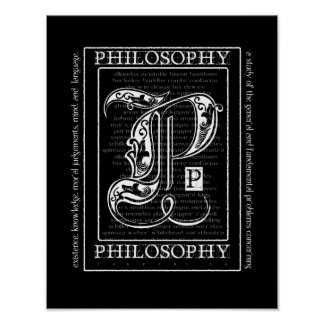 Philosophy Poster