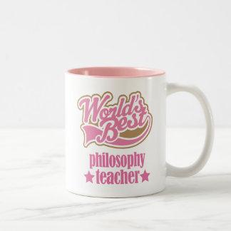 Philosophy Teacher Gift Worlds Best Mugs