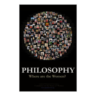Philosophy - Where are the Women Poster