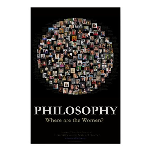 Philosophy - Where are the Women? Poster