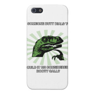 Philosoraptor Booty Calls iPhone 5/5S Covers