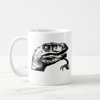 Philosoraptor - Good Morning? Basic White Mug