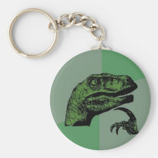 Philosoraptor Key Ring