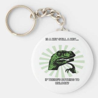 Philosoraptor Keys and Locks Key Ring