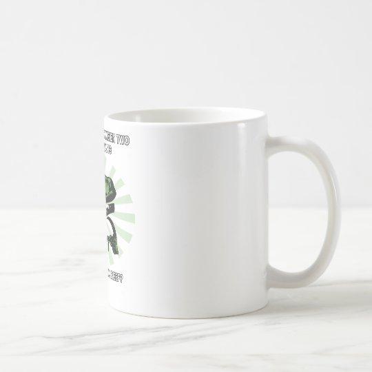 Philosoraptor Vegetarians Coffee Mug