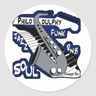 PhiloSOULphy product line Classic Round Sticker
