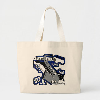 PhiloSOULphy product line Jumbo Tote Bag