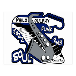 PhiloSOULphy product line Postcard