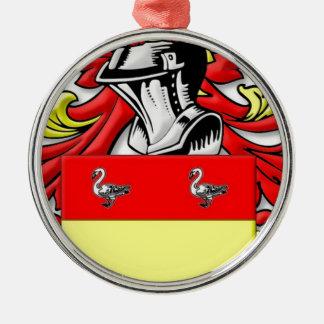 Philpott Coat of Arms Christmas Tree Ornament