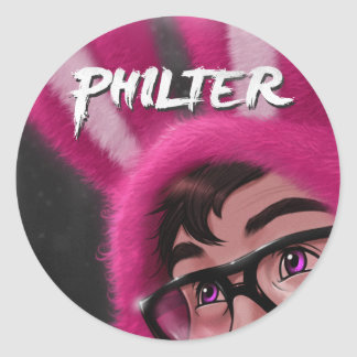 """""""Philter"""" 20 small stickers"""