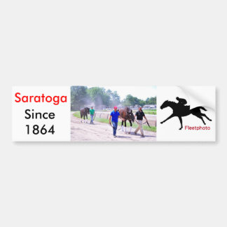 Phipps Thoroughbreds at Saratoga Bumper Sticker