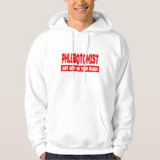 PHLEBOTOMIST HOODED SWEATSHIRT