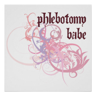 Phlebotomy Babe Posters