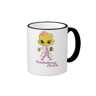 Phlebotomy Chick Black Ringer 11 oz Coffee Mug Coffee Mug