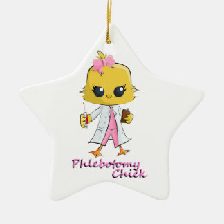 Phlebotomy Chick Christmas Ornament