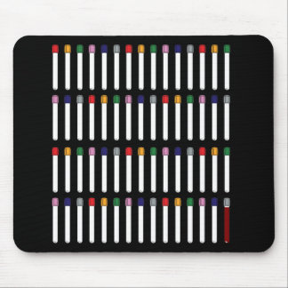 Phlebotomy Tubes Mouse Pad