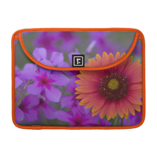 Phlox and Indian Blanket near Devine Texas MacBook Pro Sleeves