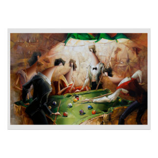 Phoca - Thumb  Billiards Party Poster