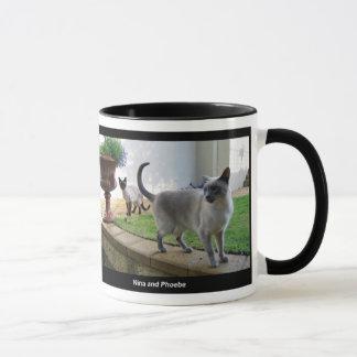 Phoebe and Nina mug