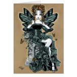 """Phoebe"" Gothic Couture Butterfly Fairy Card"