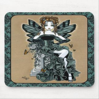 """Phoebe"" Gothic Couture Butterfly Fairy Mousepad"